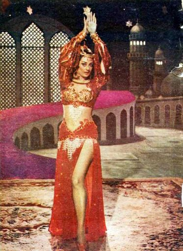 Saira Banu famous for her role in Junglee 1961 popularised the beehive hairdo in Bollywood movies.