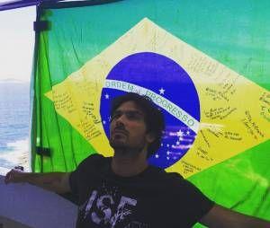 "Ator de ""The Vampire Diaries"", Ian Somerhalder definitivamente ama o Brasil!"