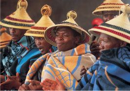lesotho tradtional clothing - Google Search