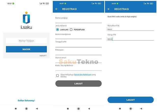 Cara Daftar Isaku Indomaret Dan Upgrade Ke Full Service Elektronik Teknologi Baru Teknologi