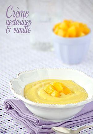 Une recette estivale… Même si la météo du jour n'est pas vraiment de saison ! Cette crème est inspirée d'une recette d'Edda, du blog Un déjeuner de soleil. Elle nous avait proposé une crème pâtissière où une partie du lait...