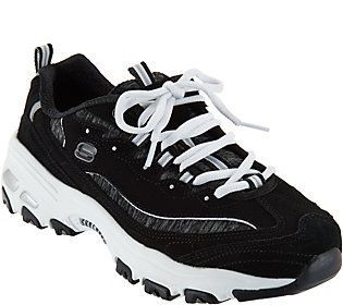 Skechers D'Lites Lace-up Sneakers - Me Time