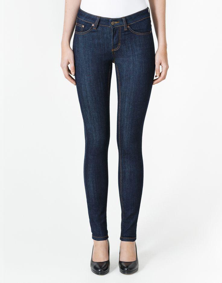 Seppälä raw denim skinny jeans