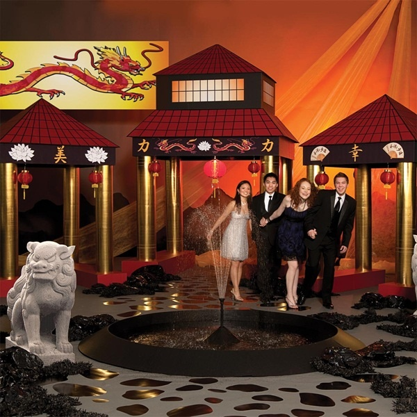 What an Awesome Reception Entrance!     Imperial Dreams Complete Theme   A DIY Disney Inspired Reception - Item # MD012 - Take your event to the Far East and have a dream of a lifetime. From the temple kits to the dragon mural you won't believe it's a Reception dream come true! [can you say Mulan?]