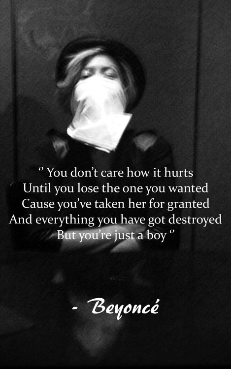 beyonce quotes about boys - photo #2