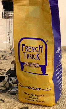 packaging and corporate image for French truck coffee, microbrewery in New Orleans
