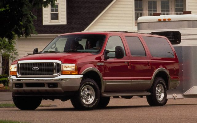 20 Truly Terrible Cars: Ford Excursion (2000 - 2005)