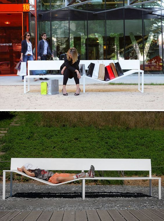 Many Things Shape The Face Of A City: Buildings, Bridges, Parks,  Sculptures. Even Benches! Thatu0027s Right, This Simple Form Of Public  Furniture Can Also . Pictures Gallery