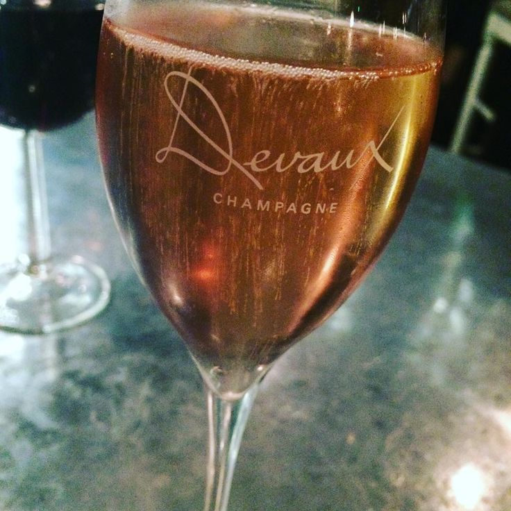 Treat yourself to a glass of Champagne Devaux #ThirstyThursday