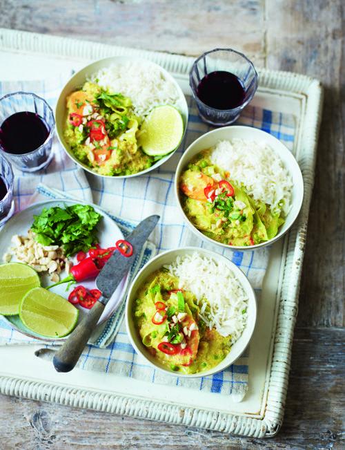 Maleisische Kokos Groente curry