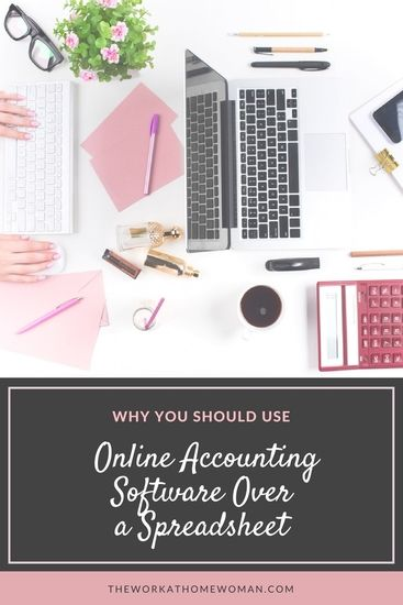 Are you managing your business' finances with a spreadsheet? If you just launched your at-home business or you've been running one for a while, but you've been using a spreadsheet to manage your business' bookkeeping — here are some reasons why you should use QuickBooks Online accounting software over a spreadsheet. #ad @QuickBooks