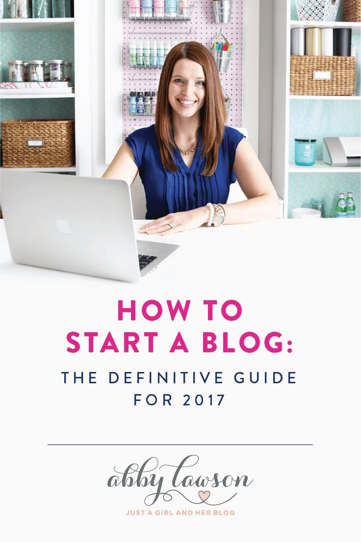 If you've ever wanted to start a blog but weren't sure how to start, this super detailed post will teach you exactly what you need to know! It walks you through how to start a blog step by step in a way that is easy to understand! Click through to the post to see how!