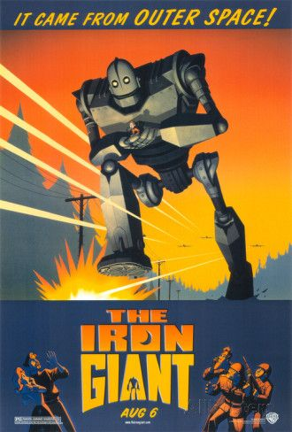 The Iron Giant Print - AllPosters.co.uk