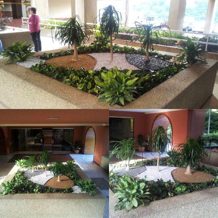 Paisajismo jardineras jardin garden piedras - Piedra para jardineria ...