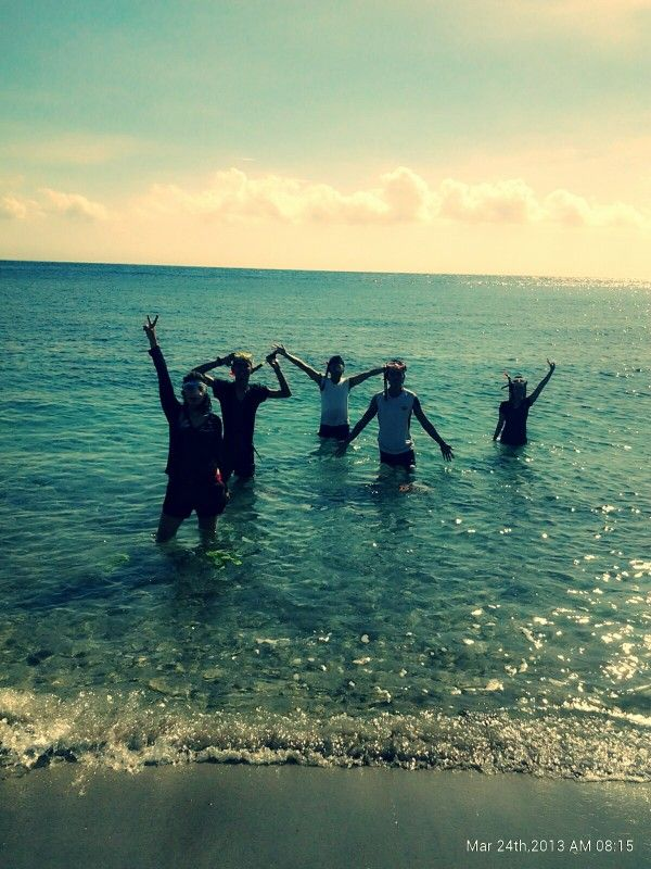 Snorkling, amet Beach