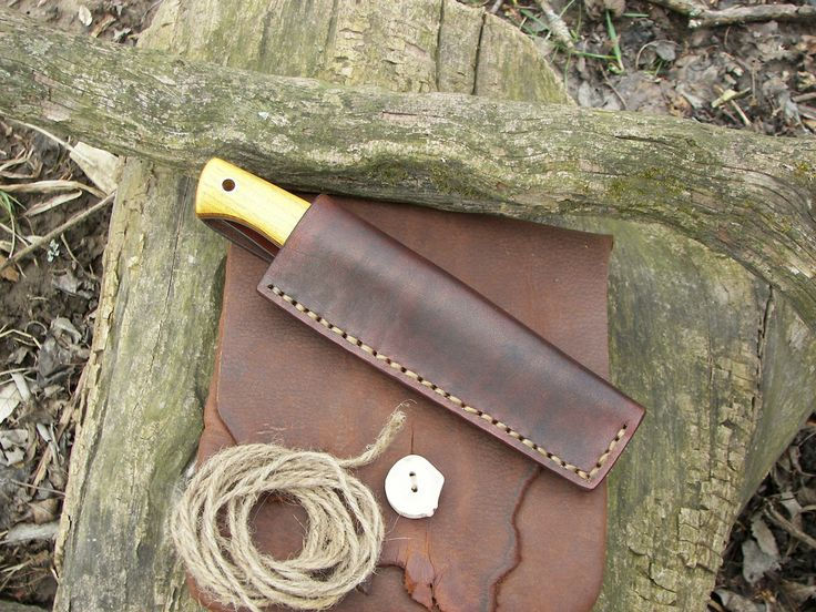 Two scandi bushcraft knives for sale!