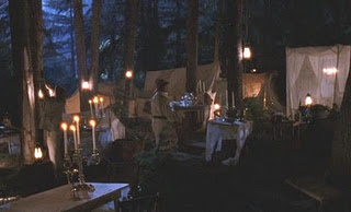 Another shot of the Life and Death Brigade gathering in the woods.