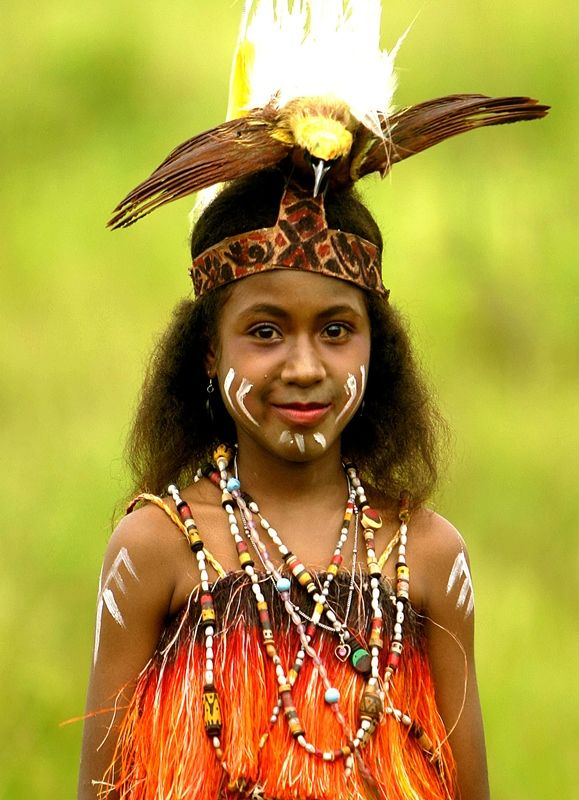 papuan girls