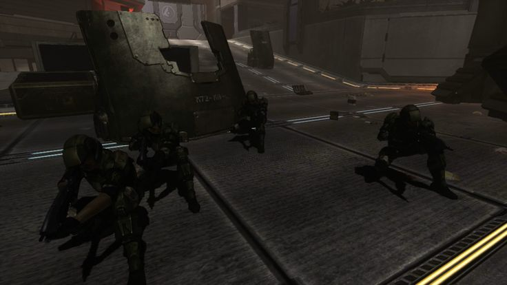 UNSC marines (Halo 3 ODST) by BeeWinter55