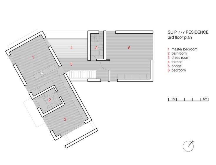 3rd floor plan  http://www.hjlstudio.com/suip-777-residence
