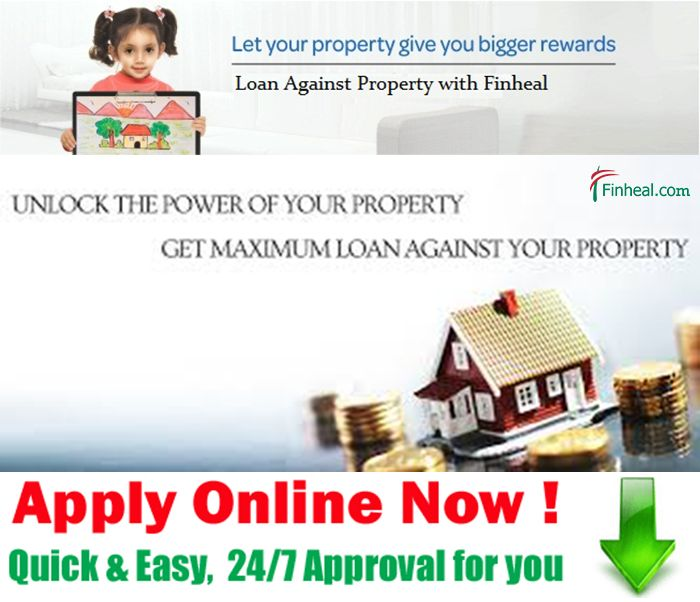 Loan against property (LAP) is also known as 'Home Equity Loans' and is a kind of loan against the security of one's property.  http://www.finheal.com/loan-against-property-in-delhi