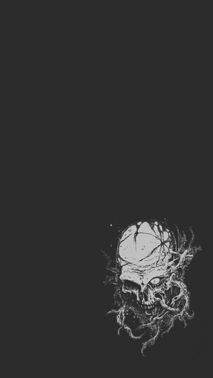 Pin De Mohammad Naeem Em Wallpapers Papel De Parede Caveira Papel De Parede Escuro Arte Horror