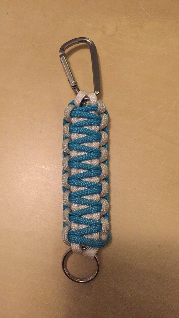 Paracord 550 Key Fob by HighElevationDesigns on Etsy