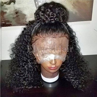 Hot Glueless Brazilian full lace wigs Human Hair lace front Wigs With Baby Hair