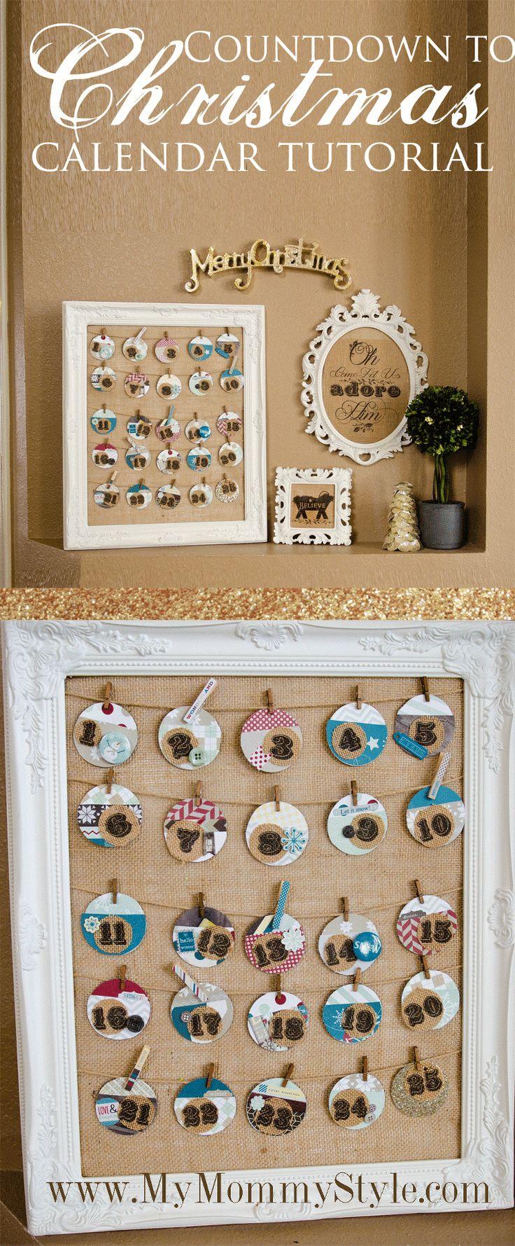 christmas-countdown-calendar-tutorial-christmas-craft-display
