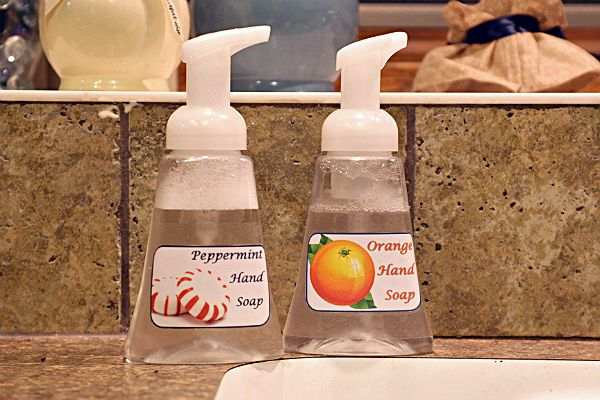 Foaming Handsoap for Only SEVEN Cents! : Simple, Healthful and Inexpensive to Make at Home!!! | Busy-at-Home