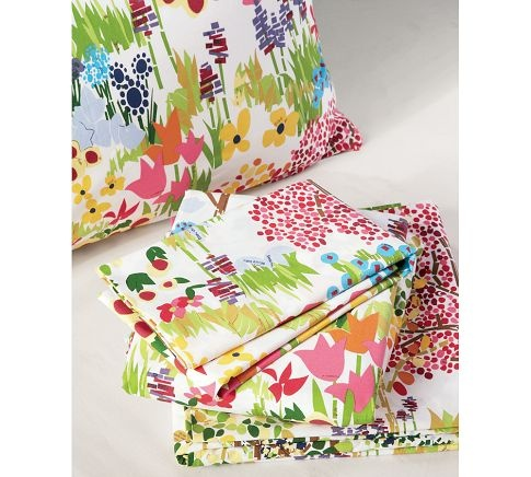 Woodland Organic Sheet Set At Pottery Barn