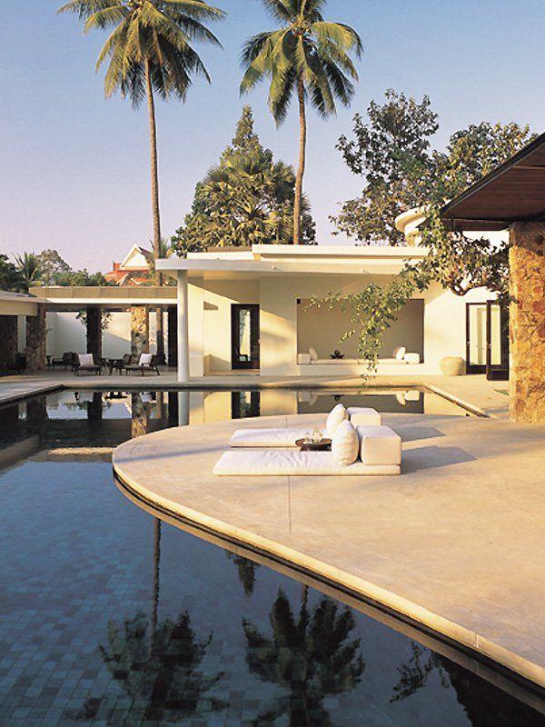 Amansara Resort In Siem Reap Cambodia