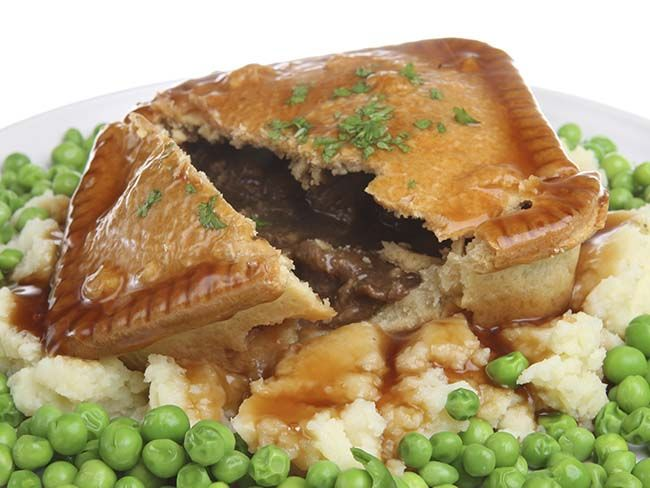 Hearty and warming Irish beef and onion pie recip -   The best of Irish cooking, simple, delicious and wholesome.