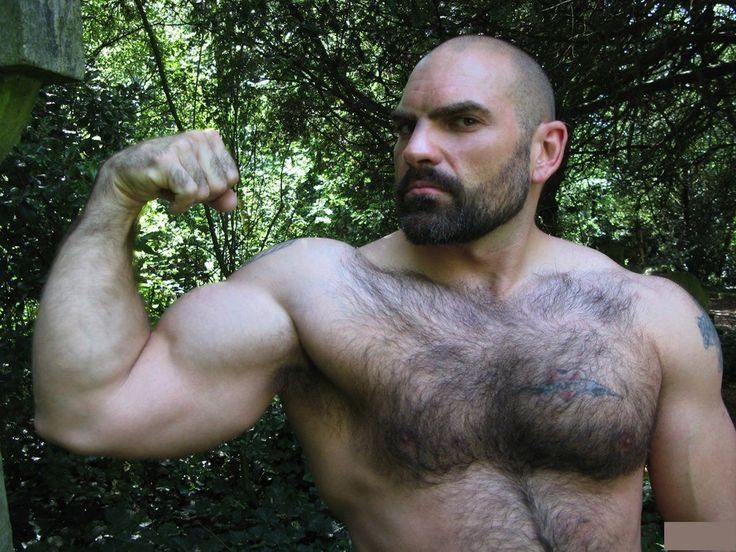 Hairy Muscular Men Pics 86