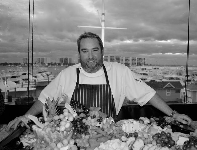 Chef Tueton of Jackacuda's in Destin Cooking Demo at Le Creuset March 8, 6pm. Free, open to the public. #LeCreuset #Giveaway