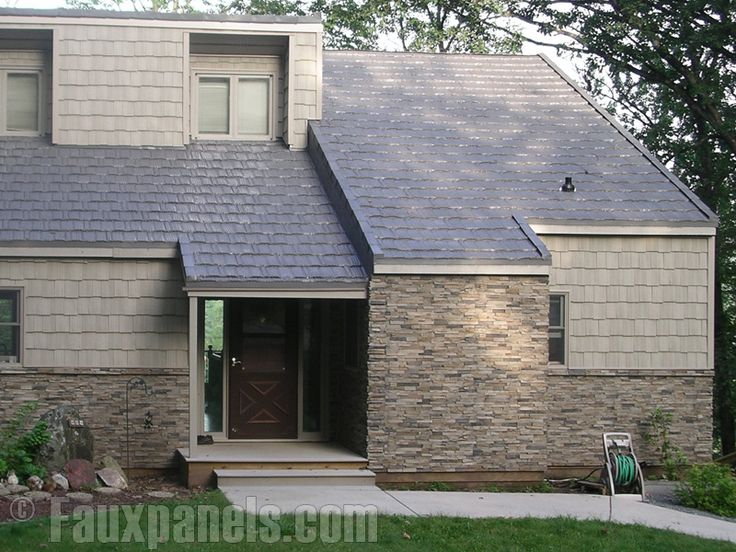 42 best Design Ideas Exteriors images on Pinterest Faux stone