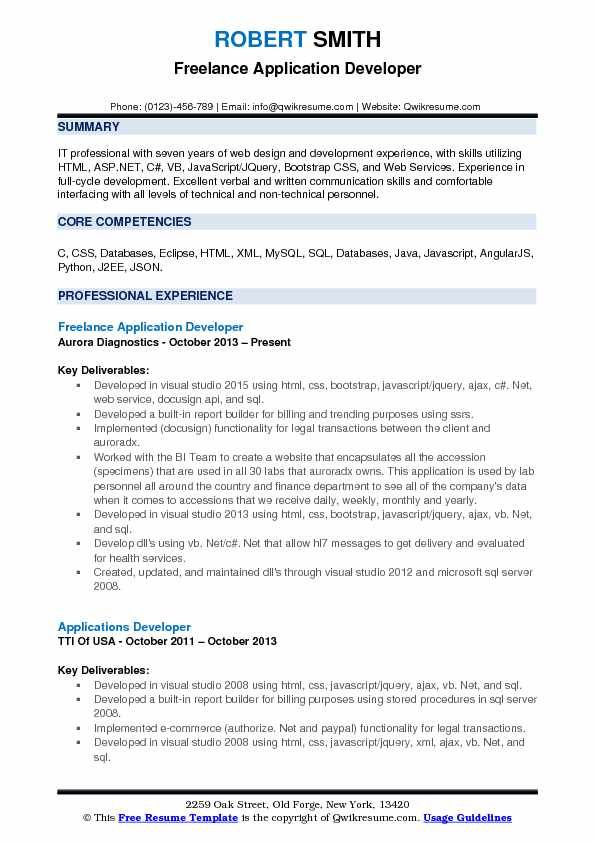 Experience Resume Format For Xml Developer Resumeformat Human Resources Resume Resume Skills Resume Examples