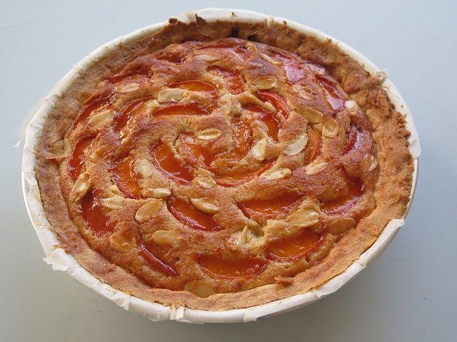 Crostata+frangipane+alle+albicocche