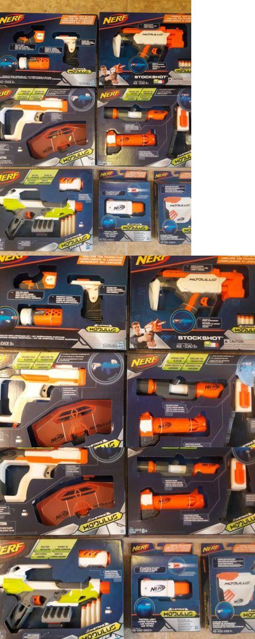 Dart Guns and Soft Darts 158749: Brand New Nerf Gun Modulus Series Lot *Ionfire, Blaster Stock, Stockshot +More!! -> BUY IT NOW ONLY: $85 on eBay!