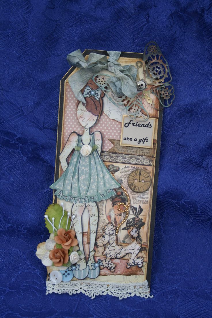 Prima paper doll stamps.