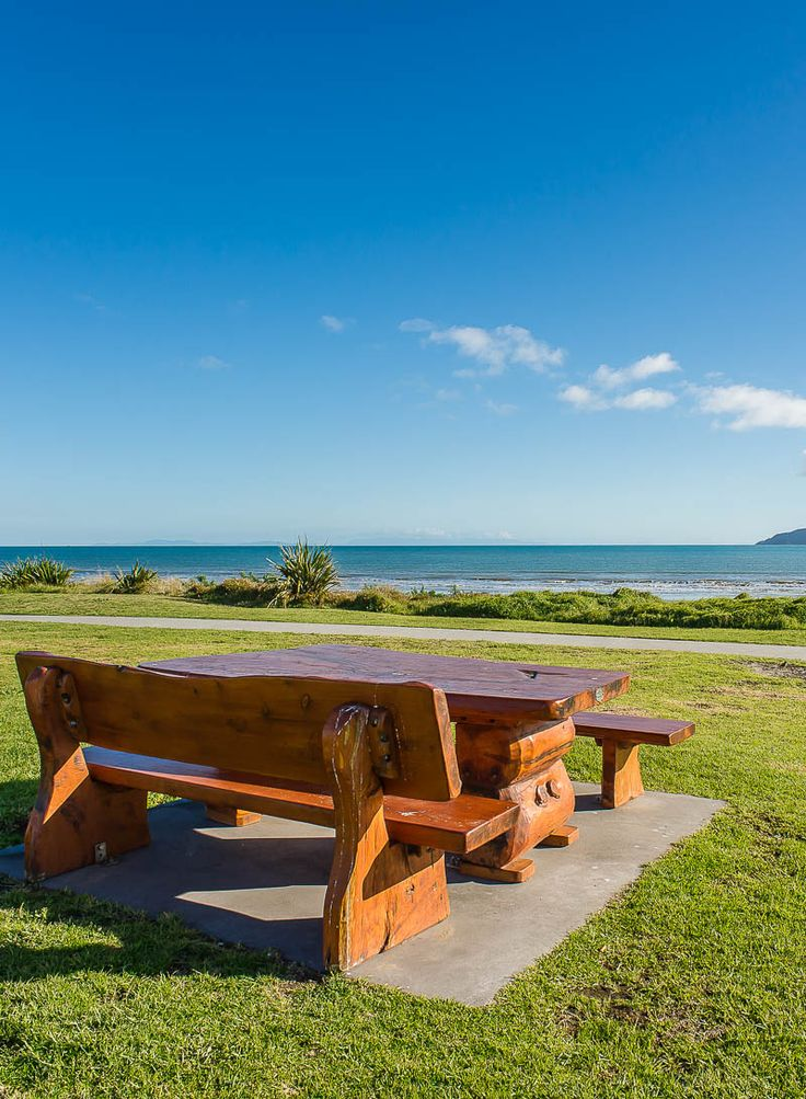 Paraparaumu Beach, Kapiti Coast, New Zealand. There is no better spot for fish and chips.