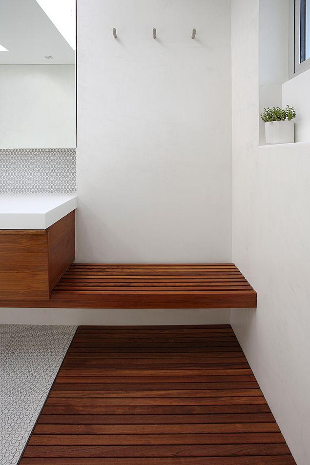 custom teak bath mats and benches photo gallery - Teak Bath Mat