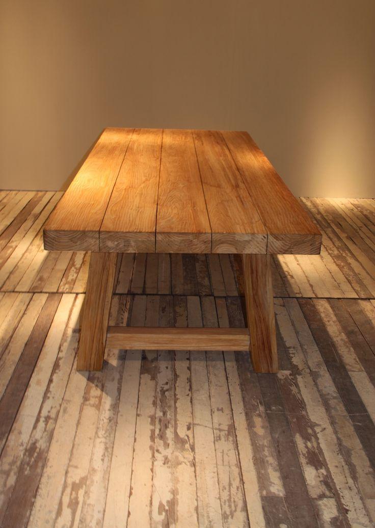 Block Aged Teak Outdoor 240x100 table
