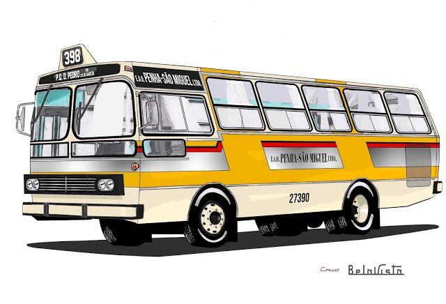 Will.Bus: Caio Bela Vista II / Cummins RC 210 - (SP) Empresa Auto Ônibus Penha São Miguel Ltda. (Década de 70)