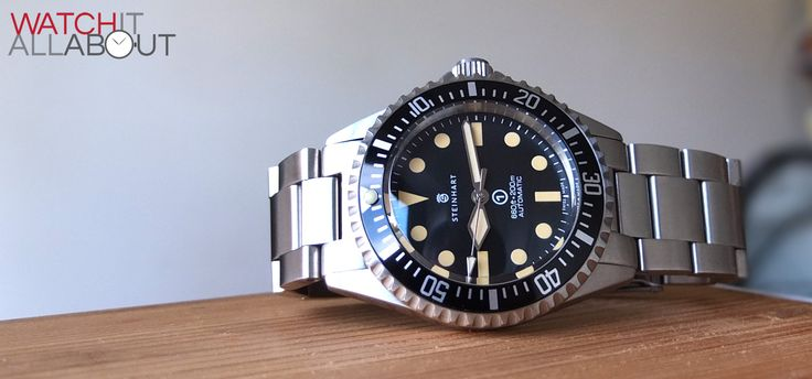 Steinhart Ocean Vintage Military Watch Review   Watch It All About