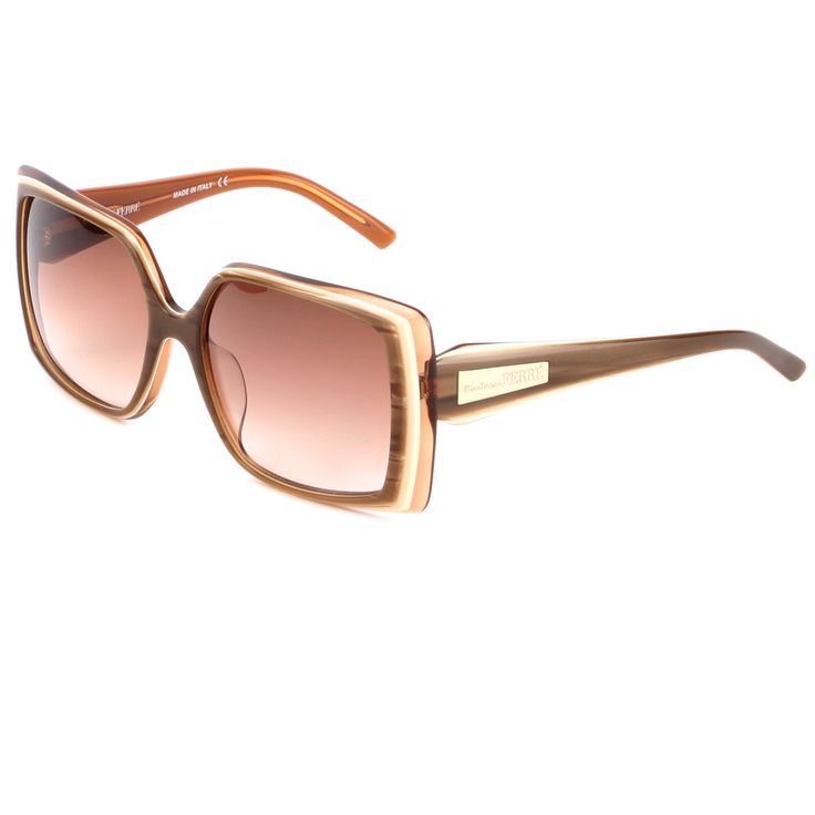 Gianfranco Ferre GF 929 04 Sunglasses – Brown Ivory