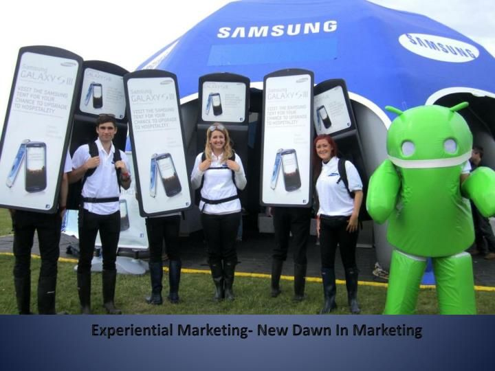 Looking for something unique, something, which can snatch attention at first, go, well ambientww has exactly what you are looking for. The team of ambientww is well aware of all the components of Experiential Marketing.  http://www.slideserve.com/Engagementmarketing/experiential-marketing-new-dawn-in-marketing