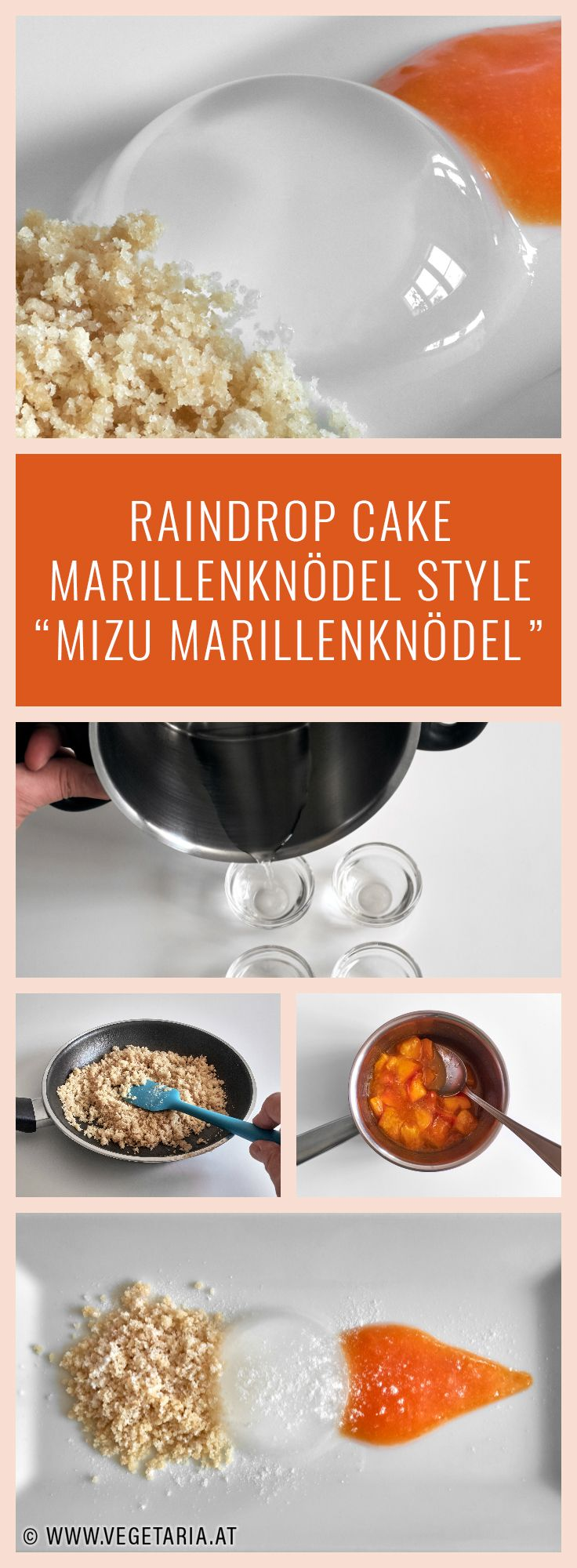 This fascinating recipe brings an Austrian touch to a Japanese dessert.