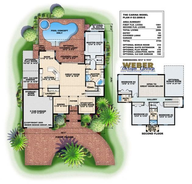 352 best california/florida house images on pinterest | home plans