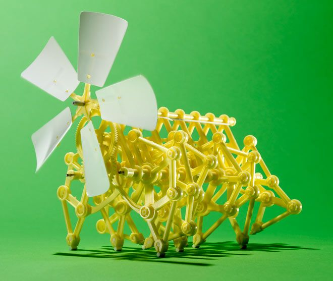 Mini Strandbeest Wind Walker